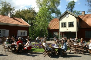 Café Färgargården i Norrköping